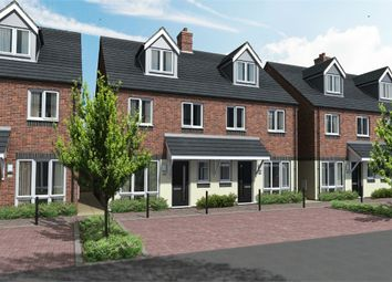 Thumbnail 4 bed semi-detached house for sale in The Rangemore, Queensbridge, Wood Street, Burton-On-Trent, Staffordshire