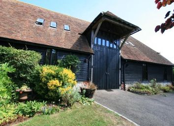 Thumbnail 3 bed barn conversion to rent in West Brabourne, Kent