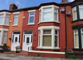 Thumbnail 3 bed terraced house to rent in Stormont Road, Liverpool
