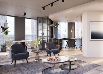 Thumbnail 3 bed flat for sale in One Crown Place, London
