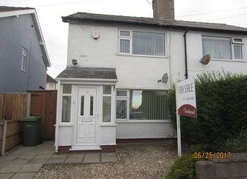 Thumbnail 2 bed semi-detached house for sale in Heather Road, Heswall, Wirral