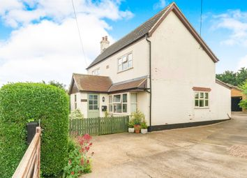Thumbnail 4 bed detached house for sale in Station Road, Scredington, Sleaford