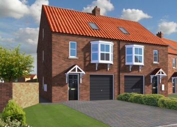 Thumbnail 3 bed semi-detached house for sale in Boothgate, Howden, Goole