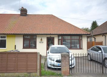 Thumbnail 2 bed semi-detached bungalow for sale in Corton Road, Ipswich