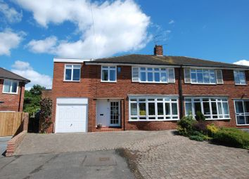 Thumbnail 5 bed semi-detached house for sale in Greenriggs Avenue, North Gosforth, Newcastle Upon Tyne
