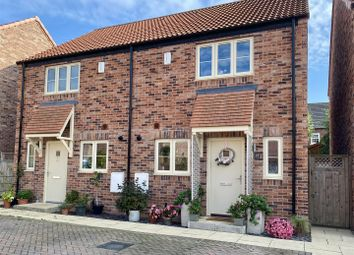 Thumbnail 2 bed semi-detached house for sale in Farefield Close, Dalton, Thirsk