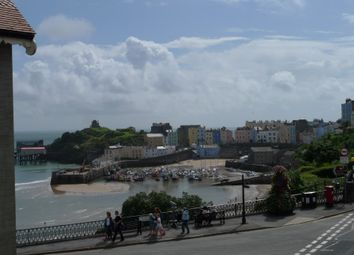 Thumbnail 1 bed flat for sale in Merlins Gardens, The Norton, Tenby