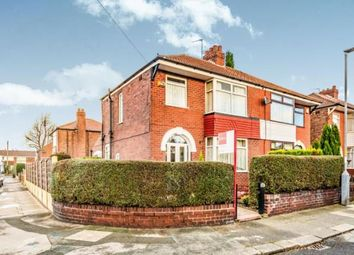 Thumbnail 3 bed semi-detached house for sale in Fairbourne Road, Denton, Manchester, Greater Manchester