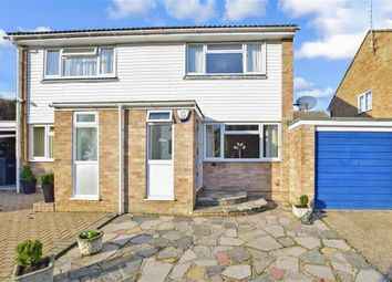 Thumbnail 2 bed semi-detached house for sale in Sandpiper Road, South Croydon, Surrey