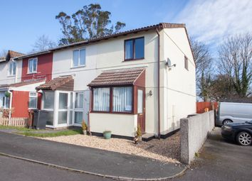 Thumbnail 2 bed end terrace house for sale in Ferndale Close, Woolwell, Plymouth