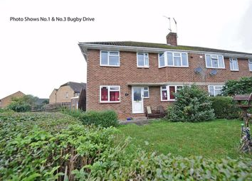 Thumbnail 2 bed flat for sale in Bugby Drive, Irthlingborough, Wellingborough