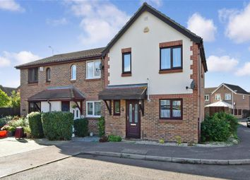 Thumbnail 3 bed end terrace house for sale in Fletcher Drive, Wick Meadows, Wickford, Essex