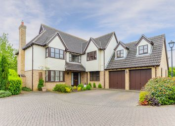 Thumbnail 5 bedroom detached house for sale in Pryors Orchard, Melbourn