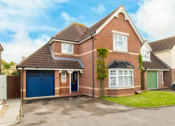 Thumbnail 4 bed detached house for sale in Sumerling Way, Bluntisham, Cambridgeshire