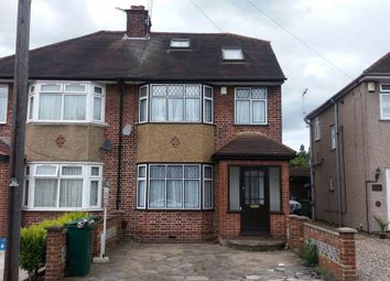 Thumbnail Semi-detached house to rent in Hayes End Drive, Hayes
