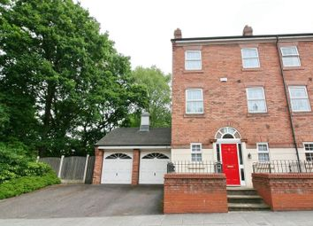 Thumbnail 3 bedroom town house for sale in Manthorpe Avenue, Worsley, Manchester