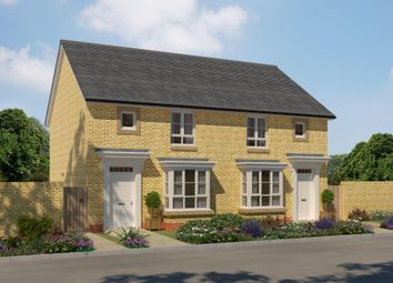 "Thumbnail 3 bedroom semi-detached house for sale in ""Edzell"" at Ravenscliff Road, Motherwell"