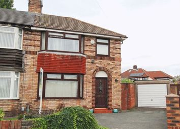 Thumbnail 3 bed semi-detached house for sale in Braydon Close, Hunts Cross, Liverpool