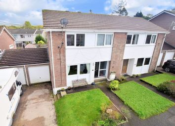 Thumbnail 3 bed semi-detached house for sale in Pencreber Road, Horrabridge, Yelverton