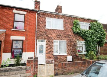 Thumbnail 3 bed terraced house for sale in Churchill Road, Great Yarmouth