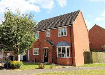 Thumbnail 4 bed link-detached house for sale in Franklin Way, Spilsby