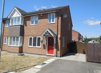 Thumbnail 3 bed semi-detached house for sale in Florian Way, Hinckley