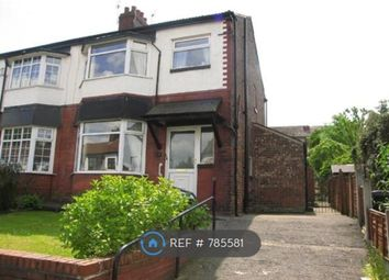 Thumbnail 3 bed semi-detached house to rent in Cliffdale Drive, Manchester