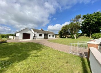 Thumbnail 3 bed detached bungalow for sale in Herston, Pencaer, Goodwick