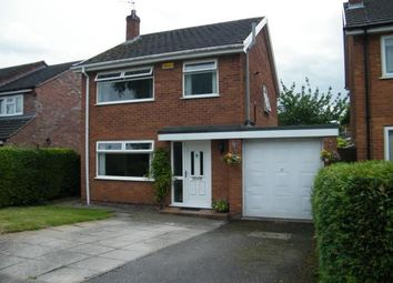 Thumbnail 3 bed detached house for sale in Woolston Drive, Hough, Crewe, Cheshire