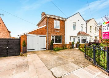 Thumbnail 3 bed semi-detached house for sale in The Crescent, Dinnington, Sheffield