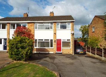 Thumbnail 3 bed semi-detached house for sale in Moat Edge Gardens, Billericay