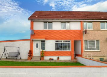 Thumbnail 3 bed terraced house for sale in Adamswell Terrace, Moodiesburn, Glasgow
