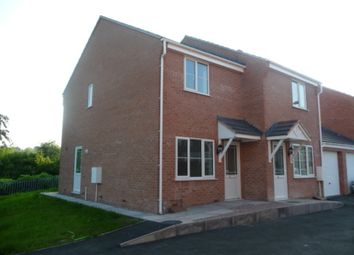 Thumbnail 2 bedroom semi-detached house to rent in Ward Place, Burslem, Stoke-On-Trent