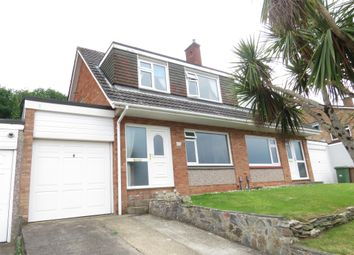 Thumbnail 3 bed semi-detached house for sale in Lalebrick Road, Hooe, Plymouth