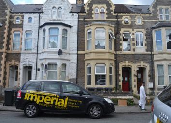 Thumbnail 2 bedroom flat to rent in 94, Claude Road, Roath, Cardiff, South Wales