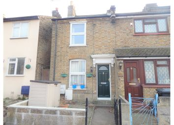 Thumbnail 2 bed end terrace house for sale in St. Martins Road, Dartford