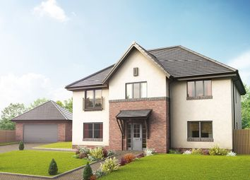 "Thumbnail 5 bed detached house for sale in ""The Macrae"" at Blinkbonny Road, Currie"