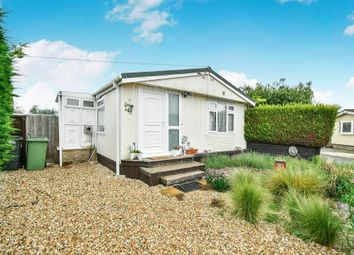 Thumbnail 3 bed mobile/park home for sale in Canons Drive, St. Johns Priory, Lechlade