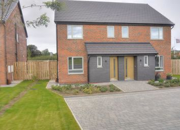 Thumbnail 3 bedroom semi-detached house for sale in Keel Gardens, Bedlington