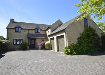 Thumbnail 4 bed detached house for sale in Station Road, Bishops Cleeve
