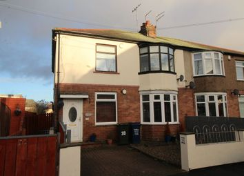 Thumbnail 3 bed flat for sale in Willowfield Avenue, Newcastle Upon Tyne