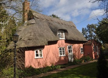 Thumbnail 3 bed detached house for sale in The Green, Coddenham, Ipswich