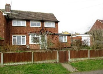 Thumbnail 2 bed semi-detached house for sale in Gatwick View, Billericay