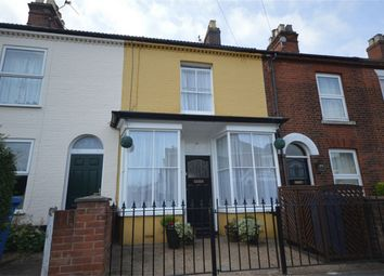 Thumbnail 3 bedroom terraced house for sale in Cricket Ground Road, Norwich, Norfolk