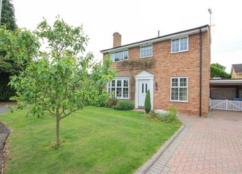Thumbnail 4 bed detached house for sale in Shelley Close, Fleet