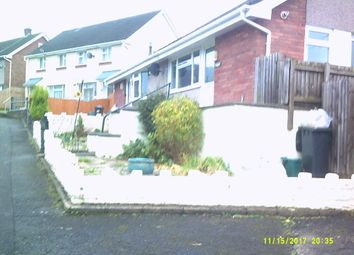Thumbnail 1 bedroom semi-detached bungalow for sale in Darren Road, Neath