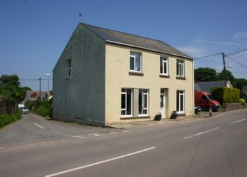 Thumbnail 4 bed detached house for sale in Main Road, Waterston, Milford Haven