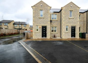 Thumbnail 3 bed end terrace house for sale in Holly Tree Court, Huddersfield, West Yorkshire
