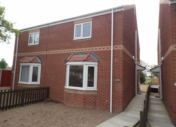 Thumbnail 3 bed semi-detached house to rent in Park View, Church Road, Stainforth, Doncaster