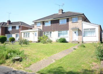 Thumbnail 4 bed semi-detached house to rent in Burgess Close, Woodley, Reading